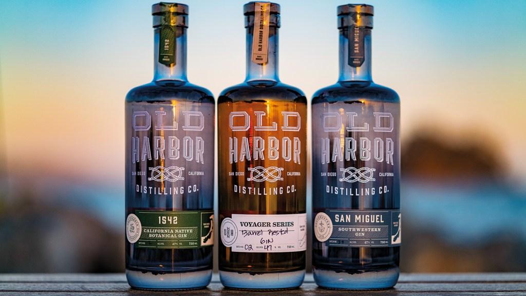 Old Harbor Distilling Co. gins