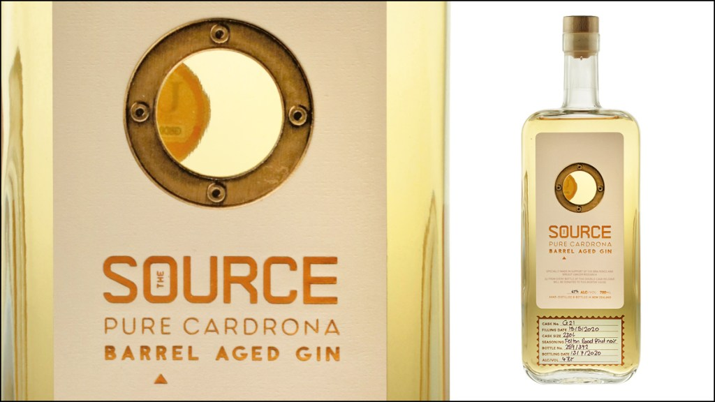 The Source Pure Cardrona Gin Felton Road Pinot Noir Barrel Aged Gin