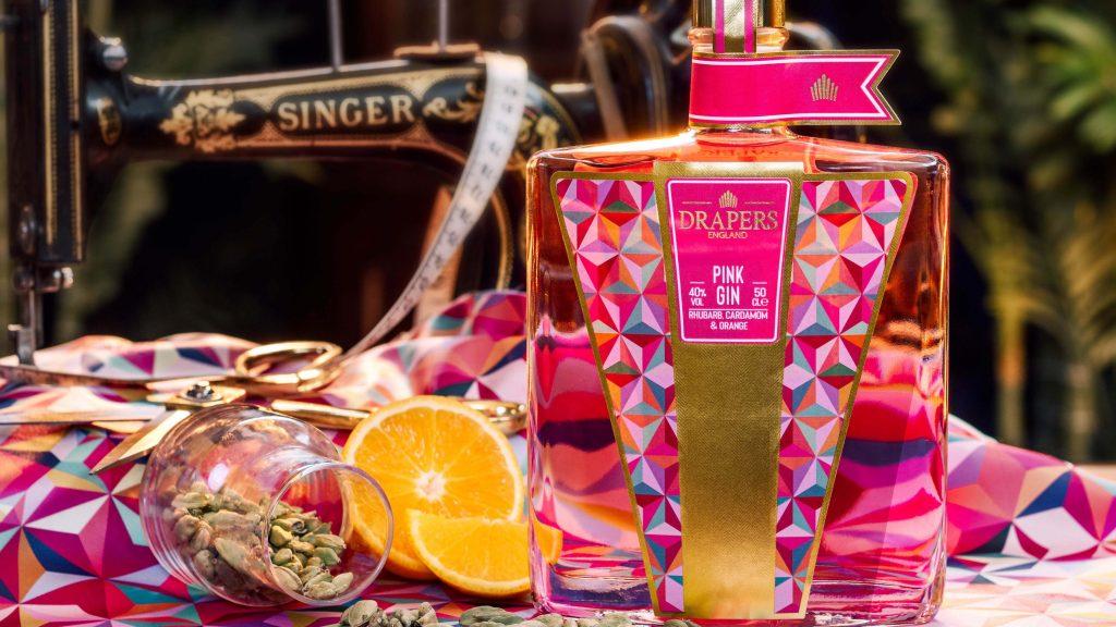 Drapers Rhubarb, Cardamom and Orange Gin