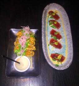 Sushi Samba Las Vegas Crispy Taquitos & Sashimi