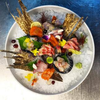 Sushi Samba Las Vegas Sashimi Platter