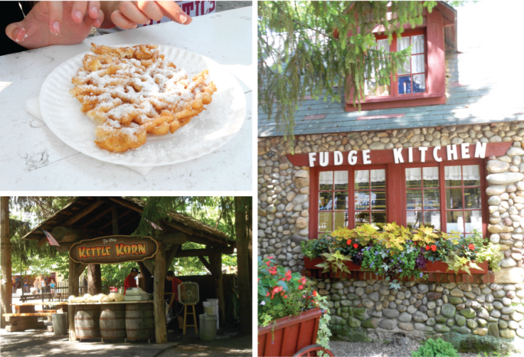 Knoebels Amusement Park Food, Fudge, Funnel Cakes, Kettle Corn