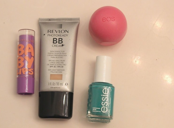 Favorite Summer Beauty Products Revlon BB Cream, Baby Lips, Essie and EOS Lip Balm