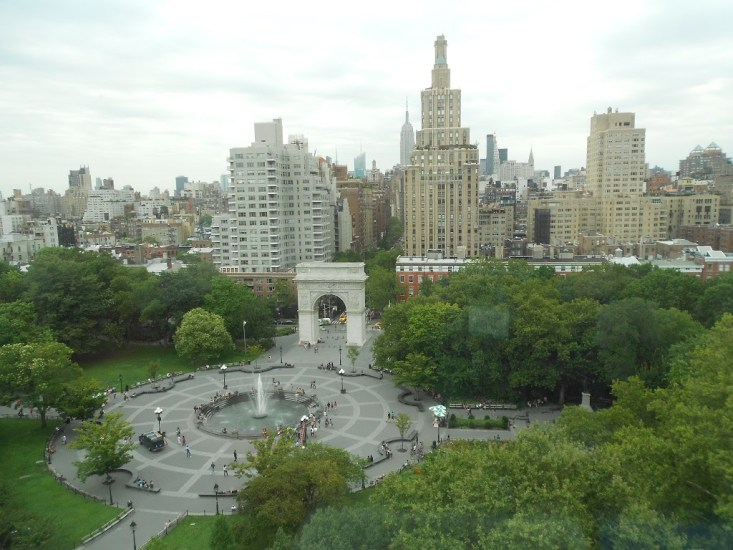 Washington Square Park, New York City Sky View