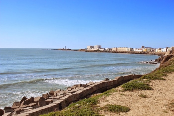 Cadiz Spain Beach Shoreline