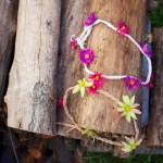 DIY Braided Floral Headband for Summer