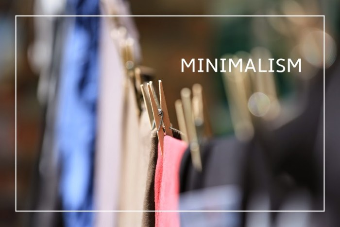 Minimalism: Downsizing Your Wardrobe