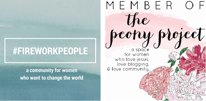 Online Communities: Fireworkpeople and The Peony Project
