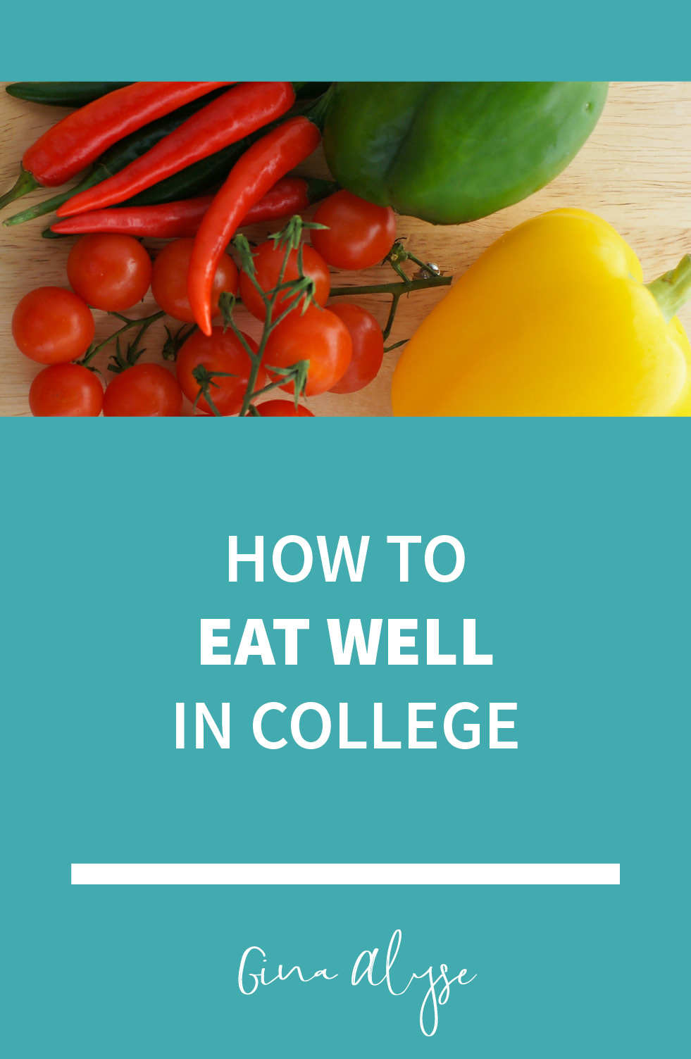 How to Eat Well In College