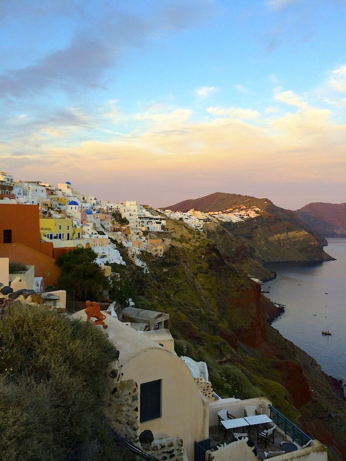 Best Place for a Santorini Sunset