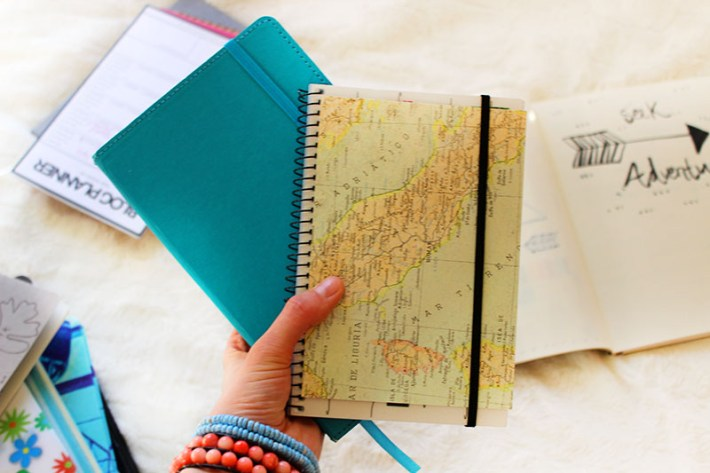 Travel-Inspired Journal
