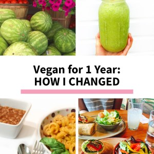 Vegan for 1 Year: How My Life Has Changed