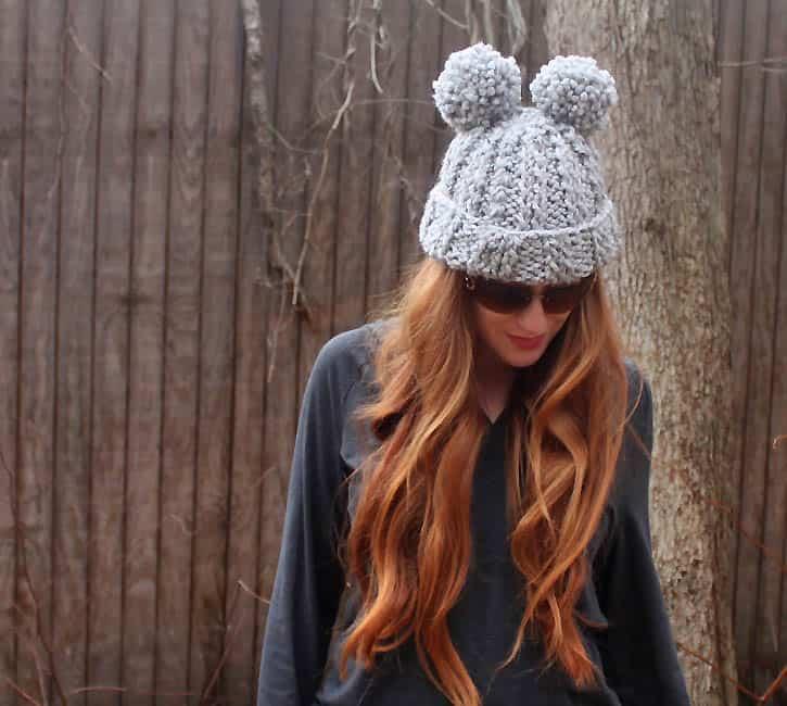 Eugenia Kim Mimi Pom Pom Hat  knitting pattern  - Gina Michele 8ca3bc38a5d3