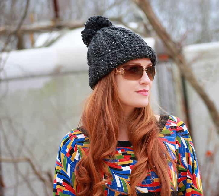 Bobble hat knitting pattern free uk dating