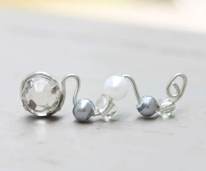 DIY Ear Climber Earrings by Gina Michele