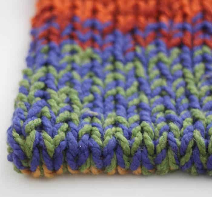 Double Layered Chunky Cowl Knitting Pattern - Gina Michele