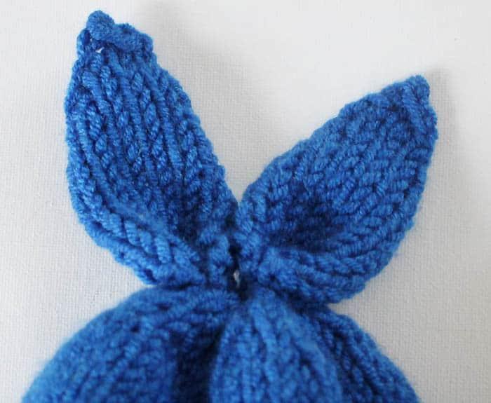 Knitting Pattern Rabbit Hat : Baby bunny hat knitting pattern gina michele