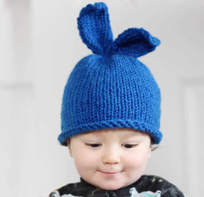 Baby Bunny Rabbit Hat Knitting Pattern