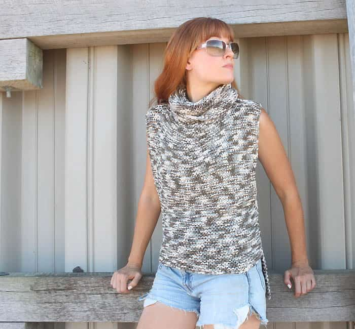Super Easy 3 Square Sweater [knitting pattern]