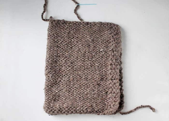 Child Woodland Hood [knitting pattern]