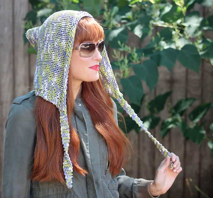 Woodland Hood [knitting pattern]