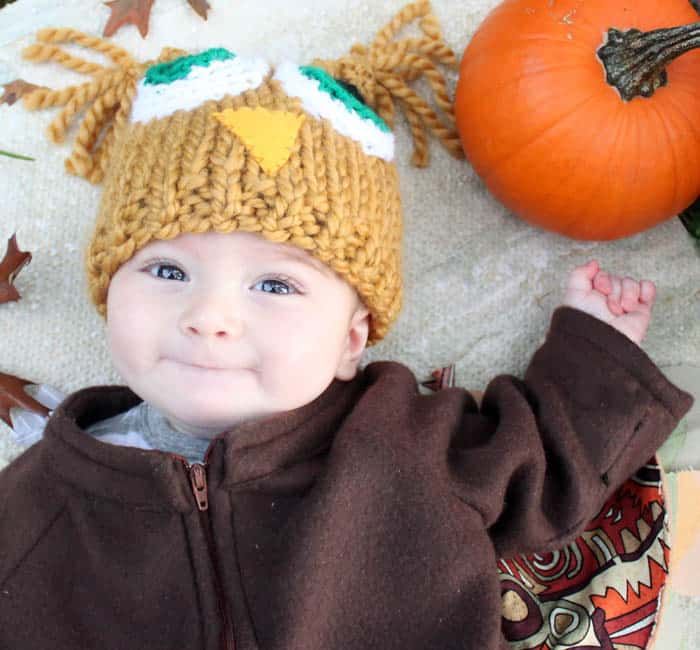 DIY Baby Owl Halloween Costume