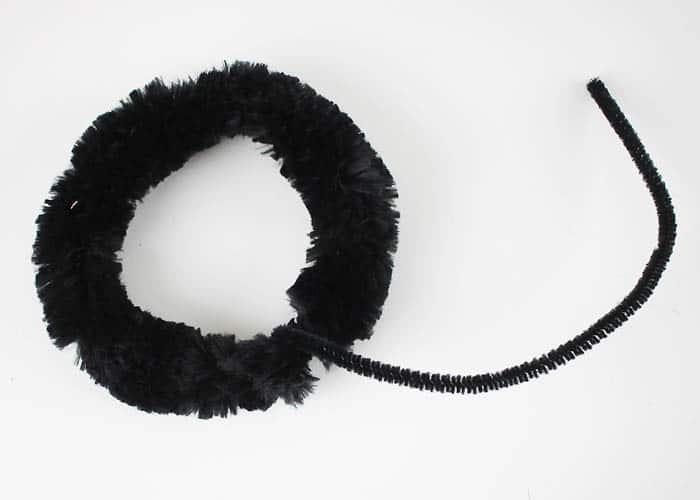 DIY Halloween Panda or Mouse Ears