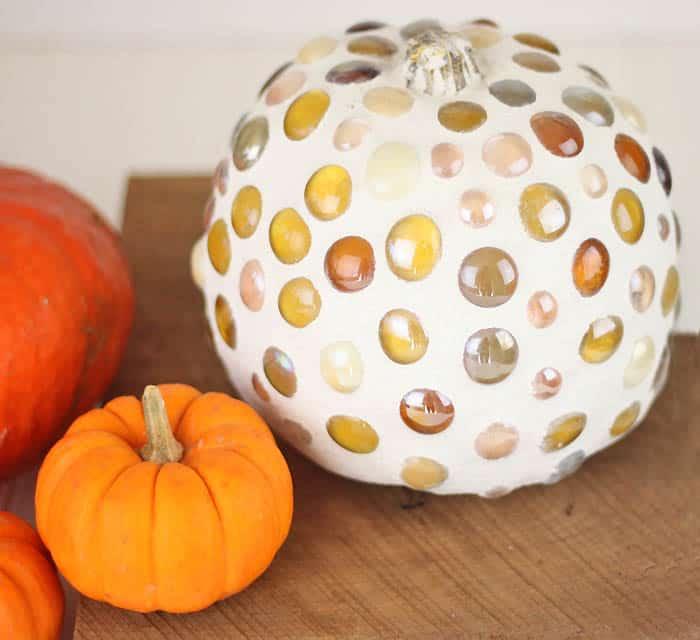 DIY Mosaic Pumpkin
