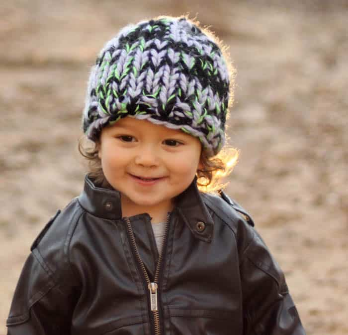 Baby Warmest Hat Free Knitting Pattern