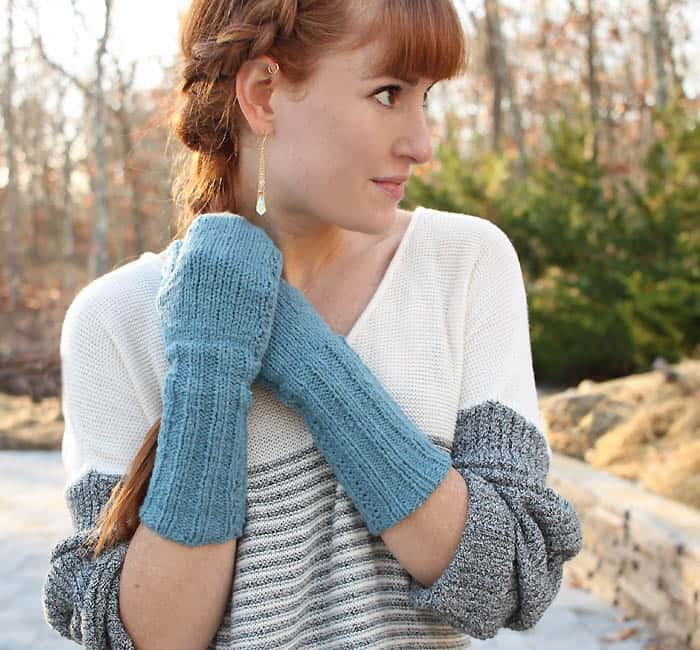 Touchscreen Mittens Knitting Pattern and Supporting Small Business with PayPal
