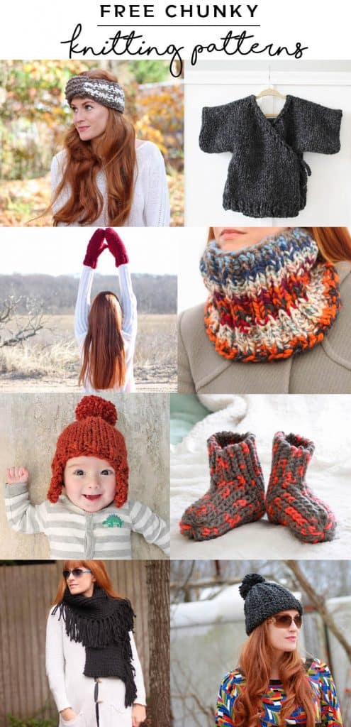 Free Knitting Patterns To Make With Chunky Yarn Gina Michele