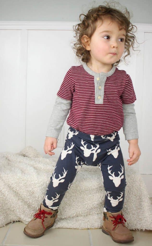 How To Sew Baby Leggings