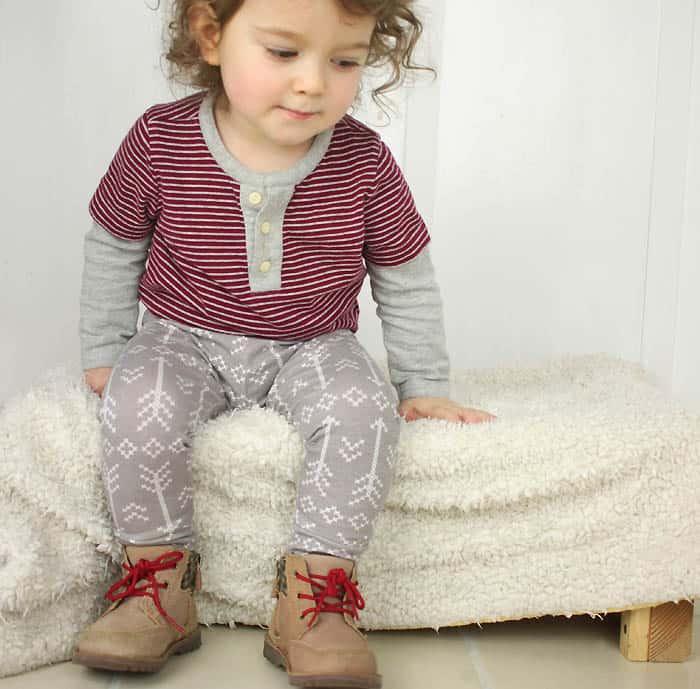 Baby Leggings DIY