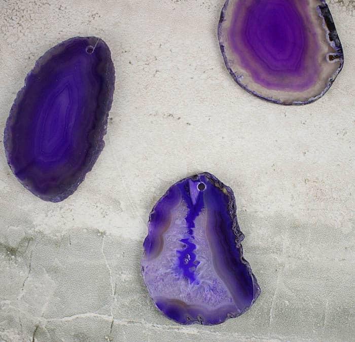 Geode Suncatcher DIY