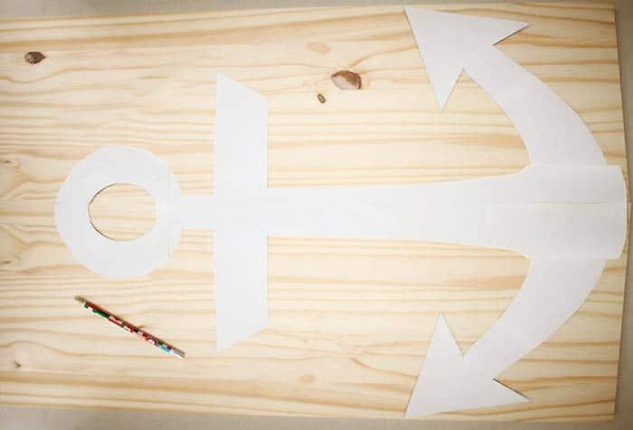 Coastal Anchor Wall Decor DIY