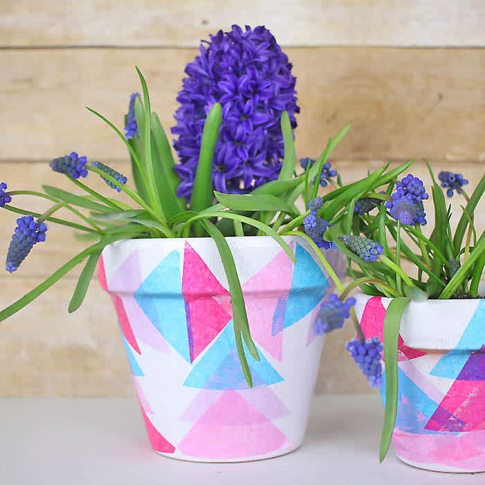 Decoupage Flower Pot DIY, Great Mother\u0027s Day Gift! , Gina