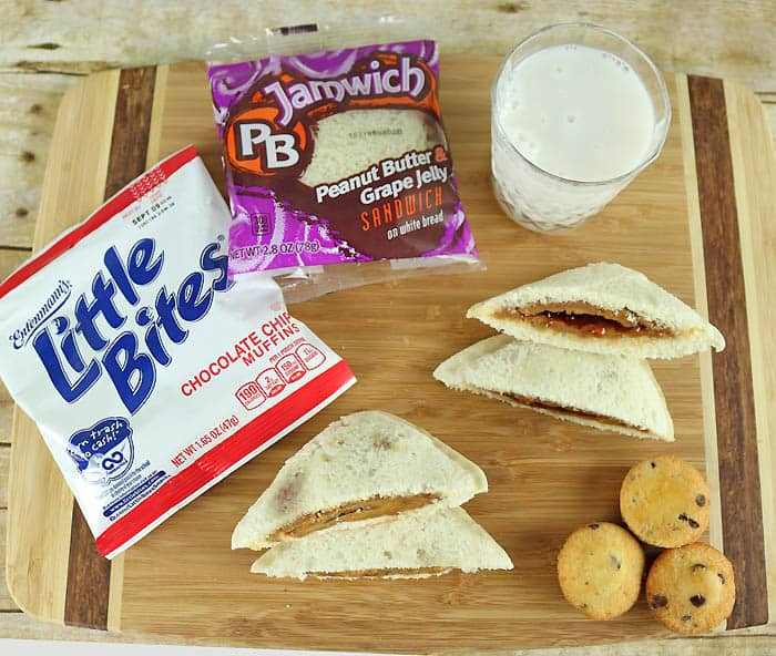 PB Jamwich and Entenmann's Little Bites