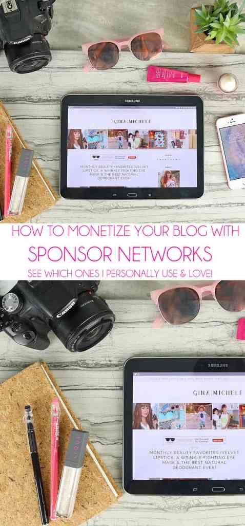 All About Sponsor Networks (updated) & Turning Your Blog into a Career