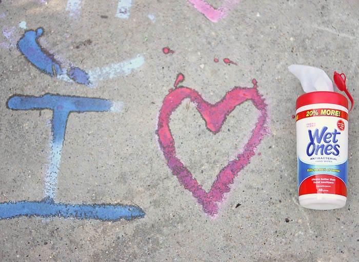 DIY Sidewalk Paint