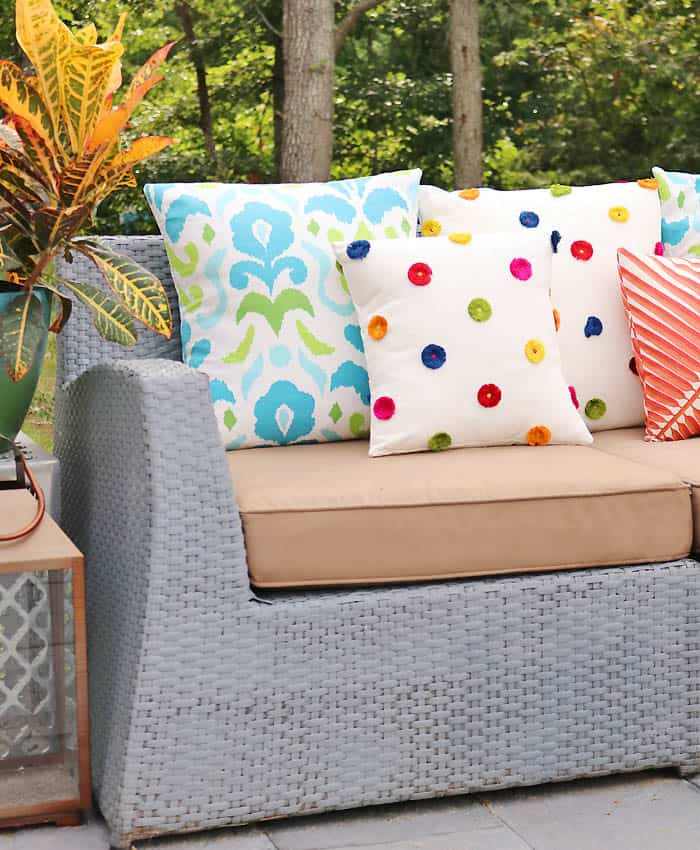 How to Sew Envelope Pillows