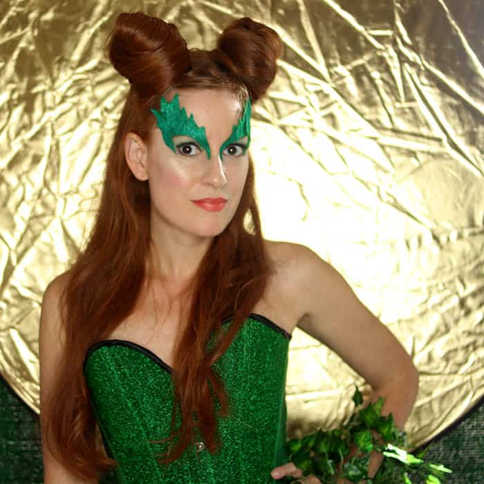 Poison Ivy Halloween Costume DIY