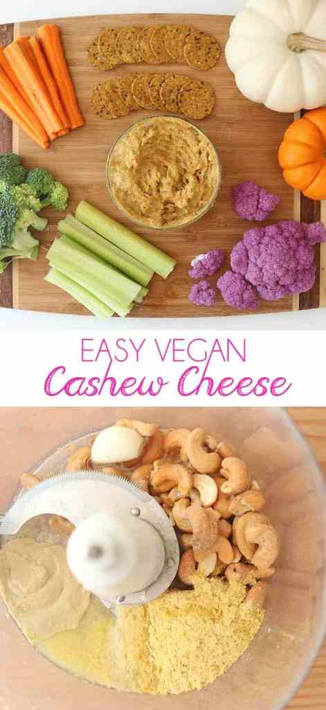 Easy Vegan Cashew Cheese