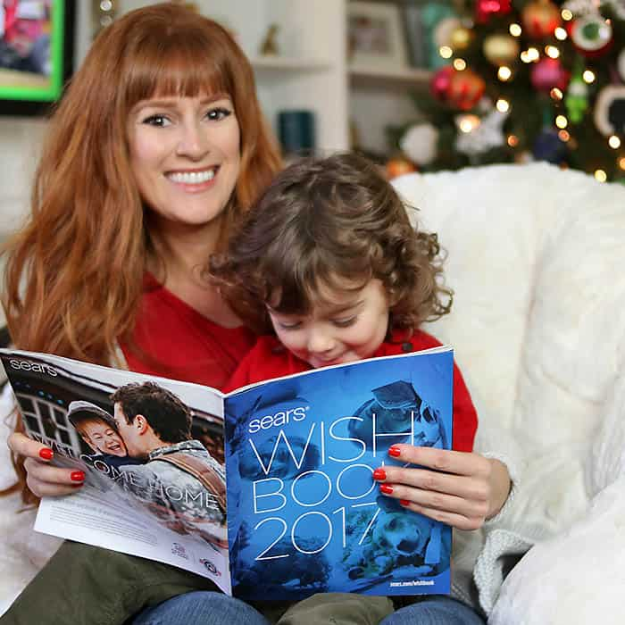 My Wish List and Holiday Nostalgia with the Sears Wish Book