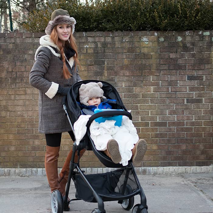 Holiday De-Stressing with the Evenflo Pivot Stroller