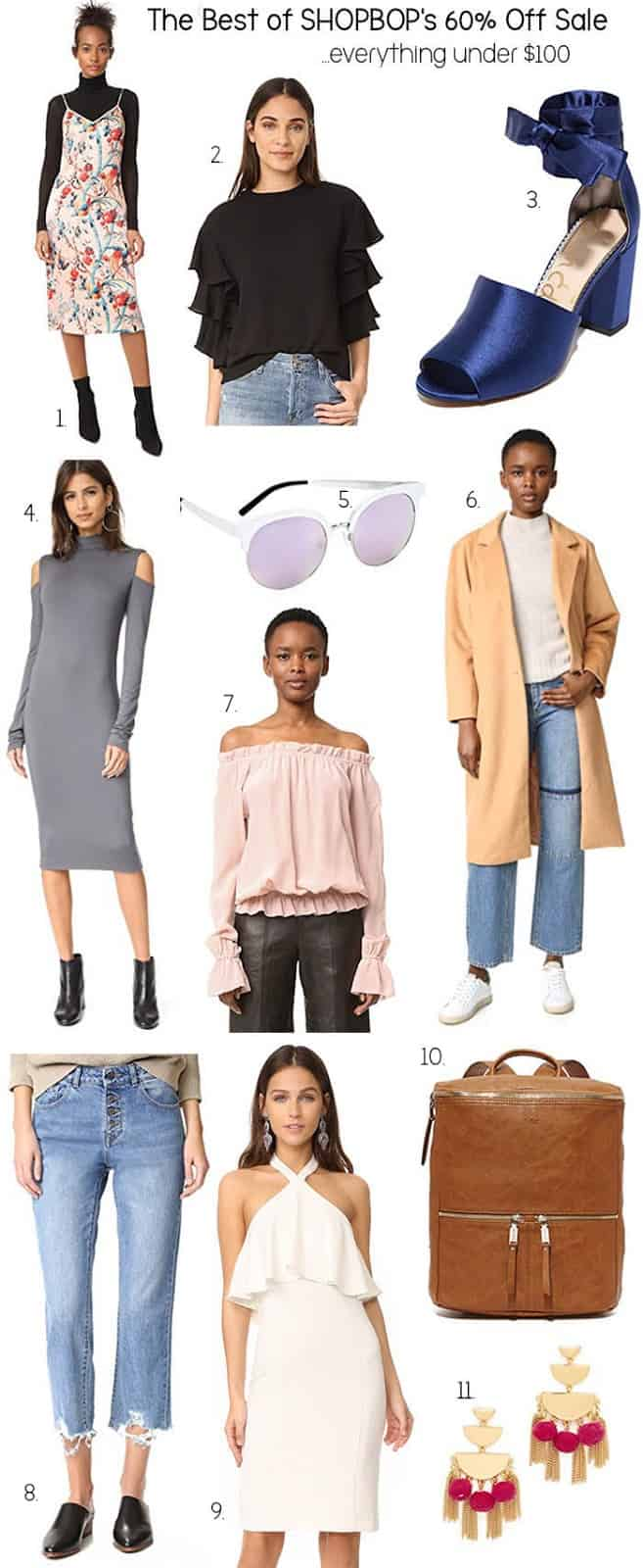 The Best of Shopbop's 60% Off Sale (everything under $100!)