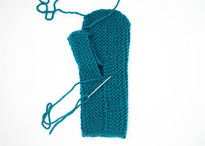 Flat Knit Mittens Free Knitting Pattern