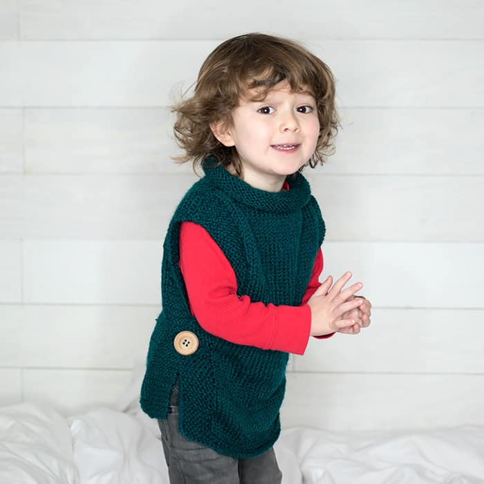 EASY Kids Sweater Free Knitting Pattern Gina Michele Classy Easy Sweater Knitting Pattern