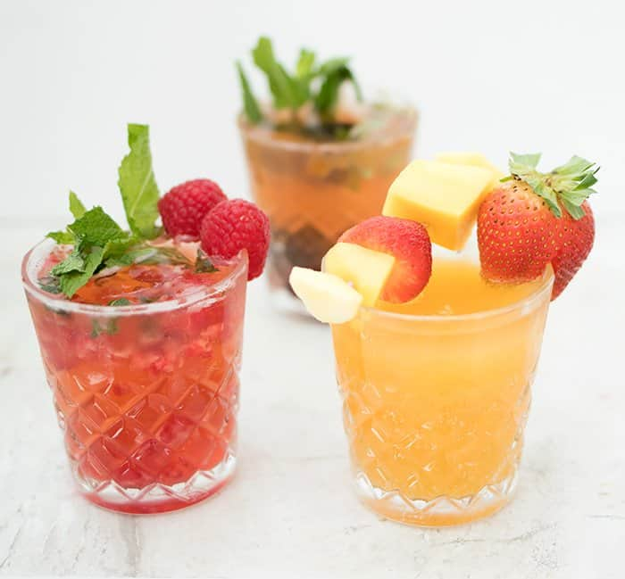 Kombucha Mocktails Alcohol free
