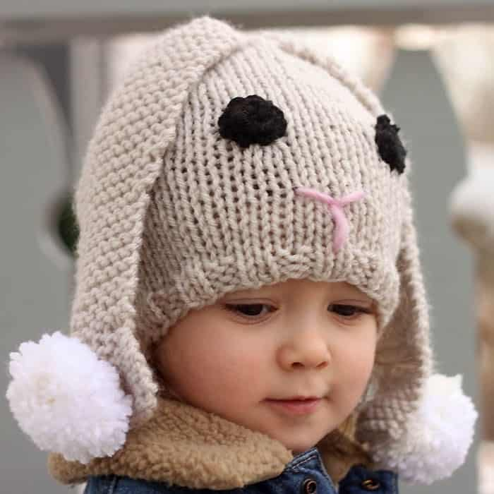 Bunny Hat Knitting Pattern