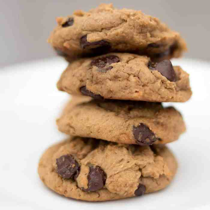Chickpea Chocolate Chips Cookies